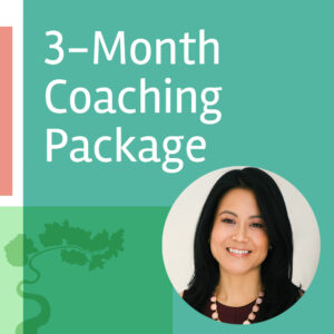 3 month coaching package with Dr. Jennifer Kim